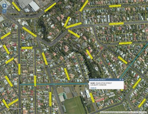 DCC Webmap - Ravelston St, Musselburgh, Dunedin JanFeb 2013