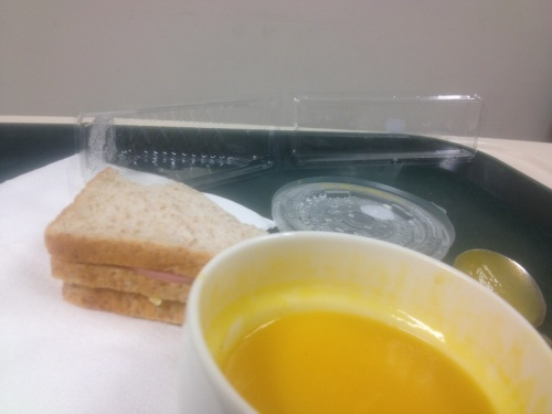 Hospital food IMG_1205 soup for dinner [Gurglars 1.5.16]