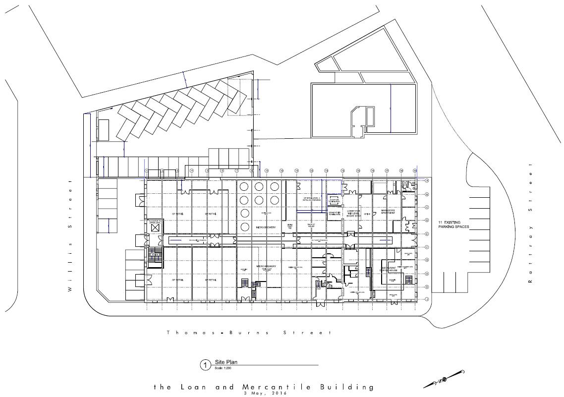 100 Building Site Plan Gables Upper Rock Gables