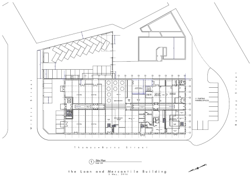 LM Building - site plan