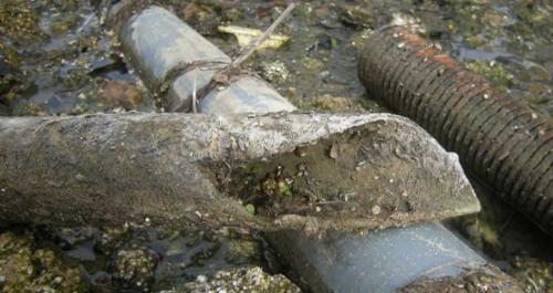 Asbestos cement pipe [cep.bessens.free.fr]