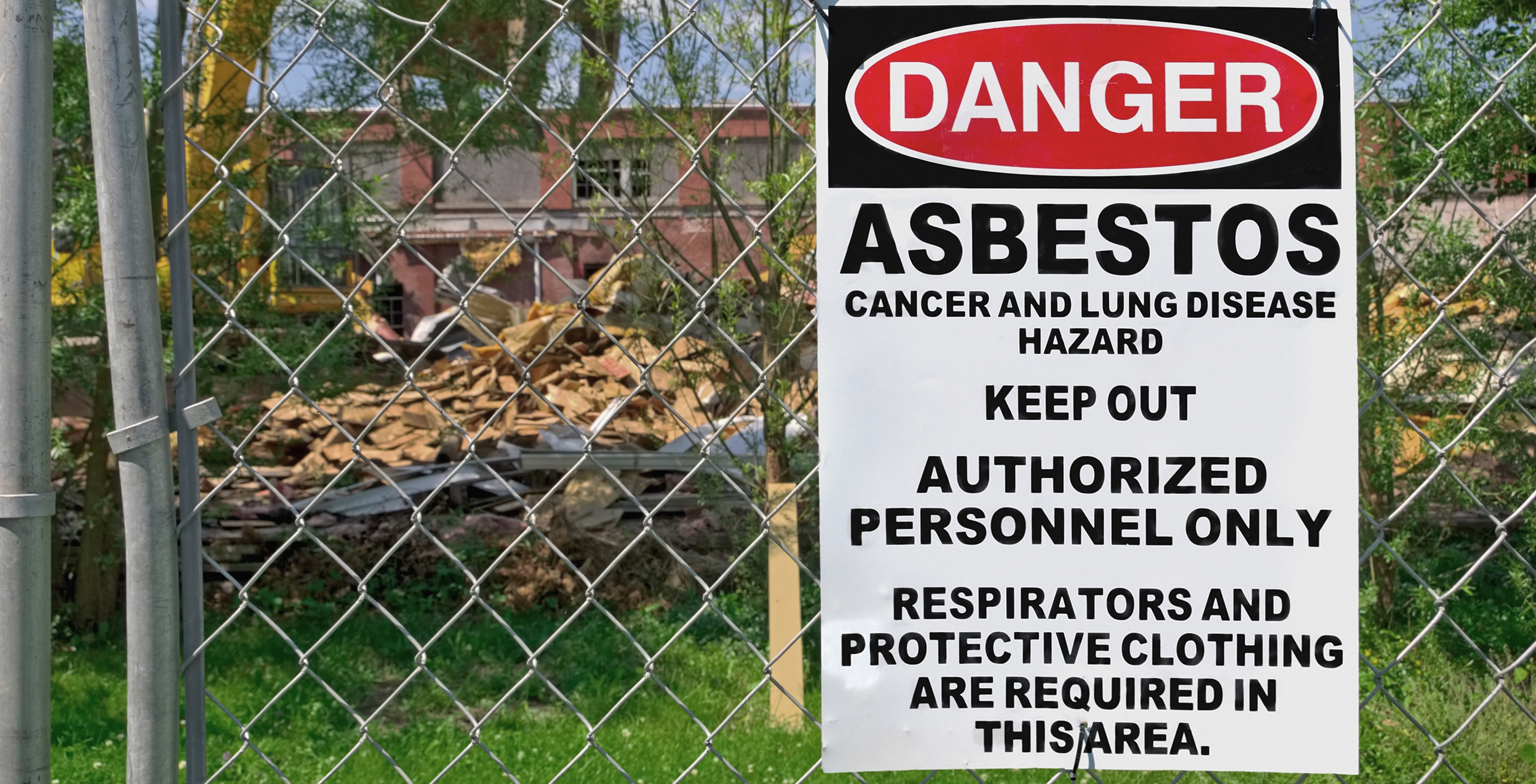 Asbestos dumping | What if? Dunedin