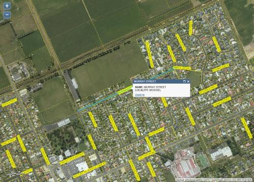 DCC Webmap - Murray St, Mosgiel JanFeb 2013
