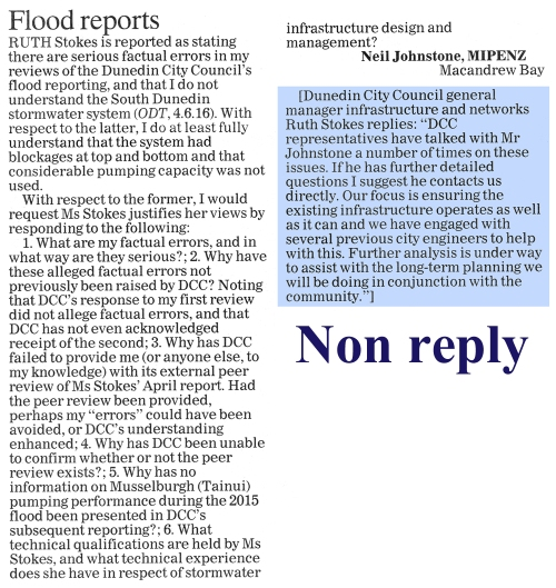 ODT 17.6.16 Letter to editor Johnstone p10