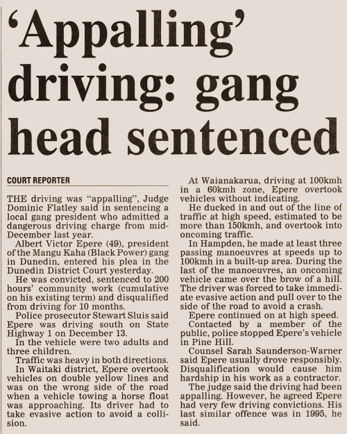 ODT 18.6.16 Appalling driving p28 (2)