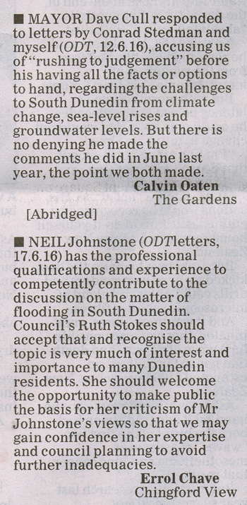 ODT 22.6.16 Letters - To the point Oaten Chave p12 (2) sml