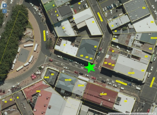 DCC Webmap - Something happened cnr Stuart and Bath Sts 21 July 2016