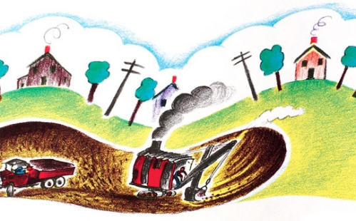mike-mulligan-and-his-steam-shovel-illustrations [childrensbooksguide.com] 1
