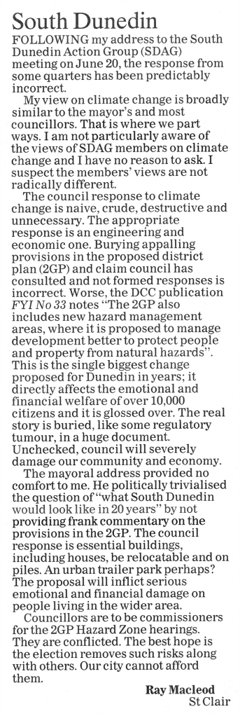 ODT 2.7.16 Letter to editor Macleod p30