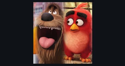 Angry Birds - the secret life of pets, trolls [film-book.com]