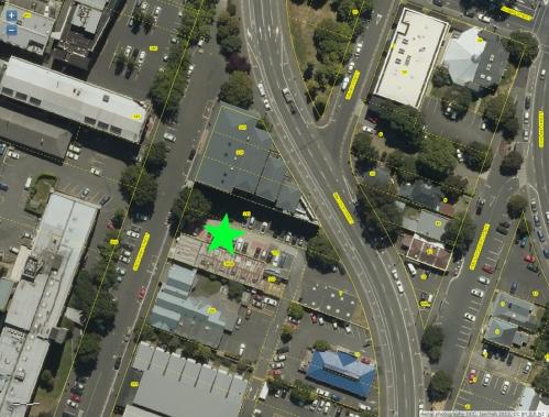 DCC Webmap - 303, 309 and 315 Great King St, Dunedin JanFeb2013
