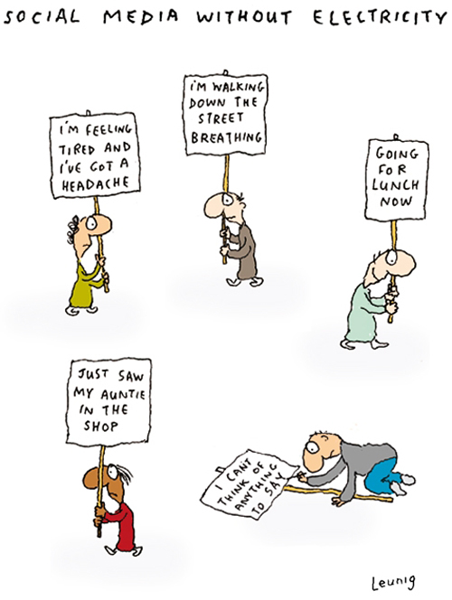 social-media-without-electricity-by-leunig-cathtatecards-com