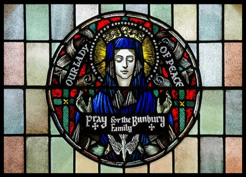 roy-miller-our-lady-of-peace-by-brian-miller-detail-framed-blk-10436323_669723813121105_4287719595656850255_n