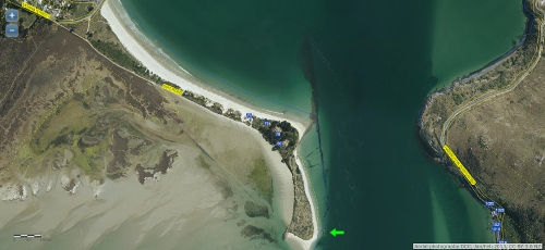 dcc-webmap-aramoana-wharf-janfeb-2013-arrowed-location