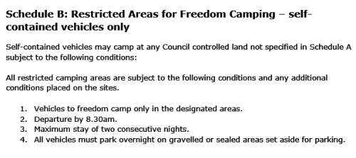 dcc-bylaw-23-schedule-b-restricted-areas-for-freedom-camping-self-contained-vehicles-only