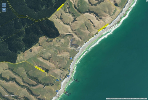 dcc-webmap-taieri-mouth-rd-and-dicksons-rd-area-janfeb2013