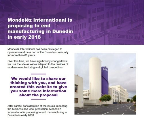 mondelez-international-webpage-screenshot